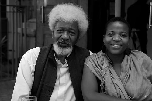 Wole Soyinka & Zukiswa Wanner