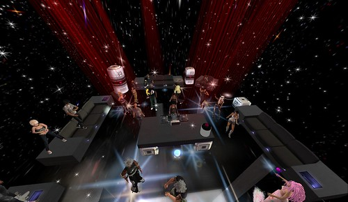 jasminx saenz party in second life