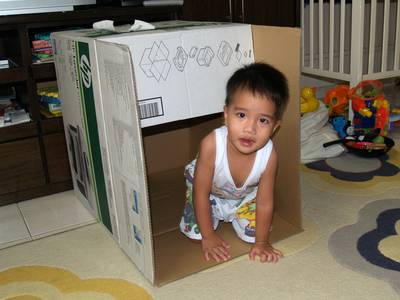 Julian in the box