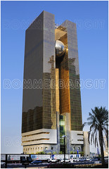 Al Dana Tower IMAGE  ROMMEL BANGIT ref RTB6747 (ROMMEL BANGIT D300) Tags: building tower architecture exterior towers colored doha qatar mz curtainwall dohaqatar colorimage rasgas mzp bangit qatararchitecture mzandpartners rommelbangit rommeltbangit danatower dafnaarea