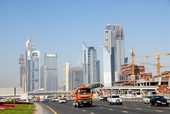 TRUCKING IN DUBAI (Claude  BARUTEL) Tags: dubai united transport emirates arab sharjah trucking