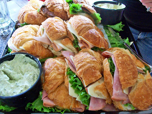 Croissant sandwiches a photo on flickriver