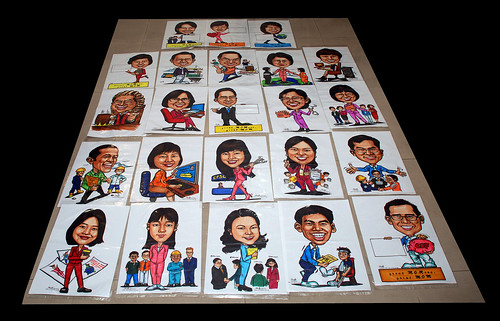 Caricature for Ministry of Manpower - all 23