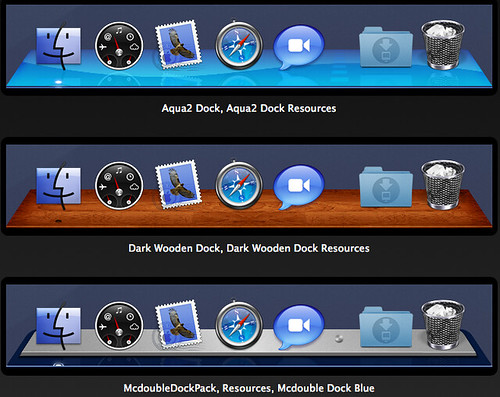 Dock Library - customise snow leopard dock