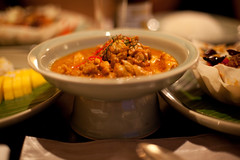 IMG_8374 (Marc Aurel) Tags: food dinner thailand hotel essen bangkok hilton millenium curry millennium thailandia abendessen milleniumhilton panaengcurry 5dmarkii eos5dmarkii