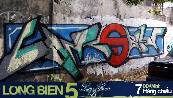 Long Biên 5 Graffiti Battle 6