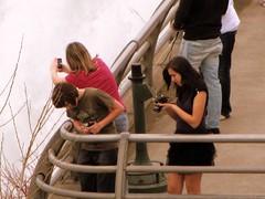 Camera chix: Full coverage (Jon Rieley-Goddard aka baldyblogger) Tags: candid americanfalls fallsofniagara camerachix