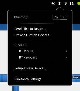 bluetooth-menu