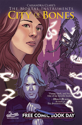 The Mortal Instruments Free Comic Book Day 2010 Cover