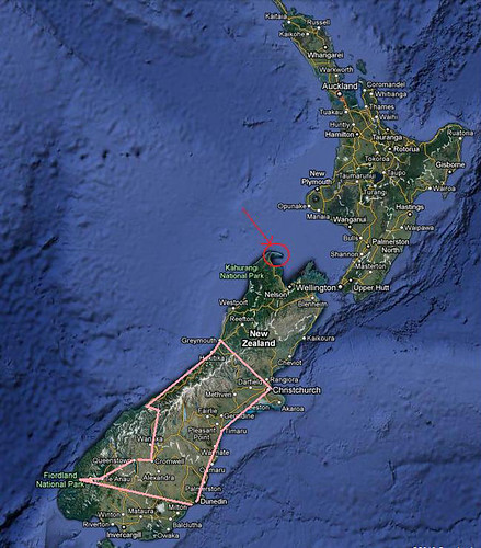 NZ Blog Map