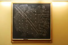 Suppose not - WTF?! (quinn.anya) Tags: graffiti math planes mathematics wtf homework universityofchicago chalkboard blackboard crerarlibrary