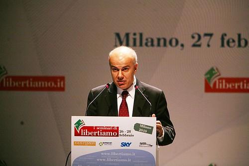 Edoardo Croci al seminario di Libertiamo, 27 febbraio 2010, sull'economia di mercato