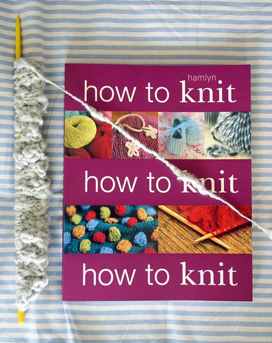 How to Knit Book and a Knit