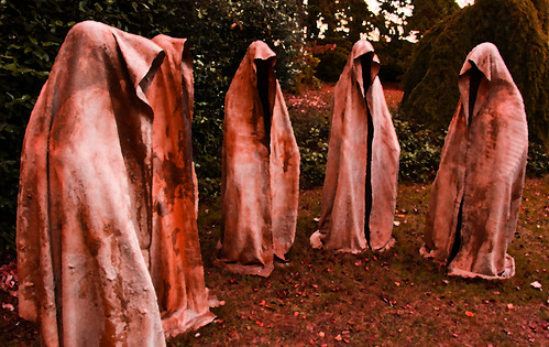 """Timeguards"" by Manfred Kielnhofer - Cass Sculpture Foundation (181) by malcolm bull"