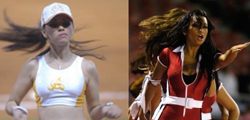 Bailarinas Aguiluchas y Bailarina Escogidista