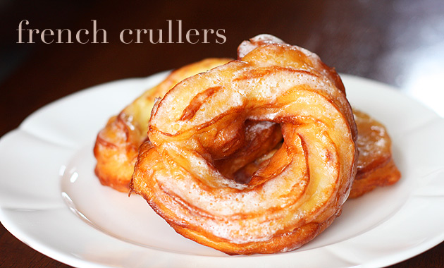 French crullers are probably one of my favorite kinds of doughnuts ...