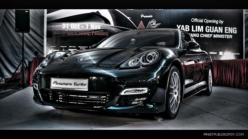 Porsche Panamera Turbo HDR