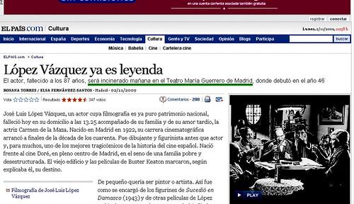 Muere López Vázquez...