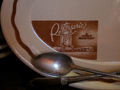 The Rotisserie (prima seadiva) Tags: brown vintage tan dishes restaurantware tanbody restaurantchina