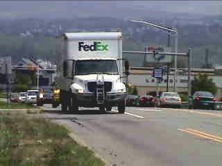 FedEx Ground Navistar HTS-10T