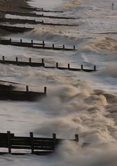 Breakwaters (Nick Landells) Tags: uk seawall cumbria groyne breakwater groynes stbees breakwaters bulwarks d80 nikkor70300mmvr