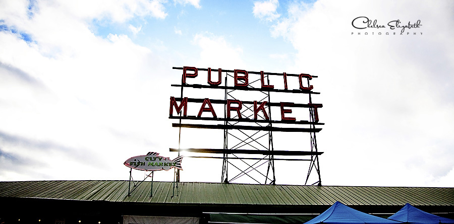 Seattle Washington public market