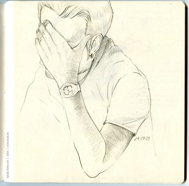 Sketchbook, October 2009