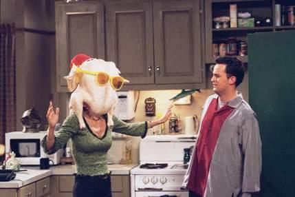 Friends Monica Chandler peru
