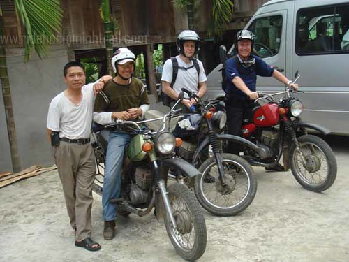 Motorcycling tour on Hochiminh trail, Vietnam