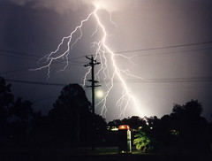Lightning (Accession) Tags: storm film pentax telstra lightning huntervalley