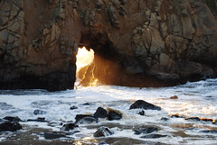 OceanPortal (evanhawke) Tags: beach rock big sur pfeiffer