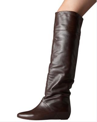 otk boots - brown