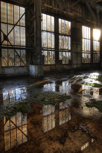 Urbex reflection