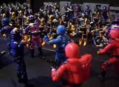 A Distraction! (guiltridden) Tags: crimson cobra joe guards bats gi