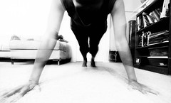 236/365: Alignment (Blissful_Bee) Tags: selfportrait yoga pose arms push strength 365 practice plank hold pushup align yip anusara visualdiary project365 dailymoments