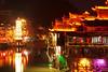 FengHuang,Hunan (Brady Fu) Tags: china houses light architecture night pagoda pentax colourful 夜景 fenghuang hunan 古镇 凤凰 湖南 宝塔 k10d