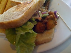 Sam's Anchor Cafe - Oyster Sandwich
