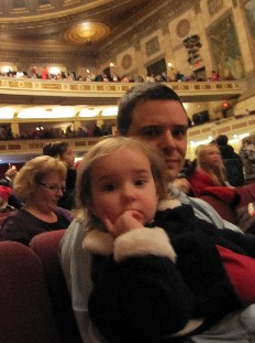 Dad and Max at Eastman Theater