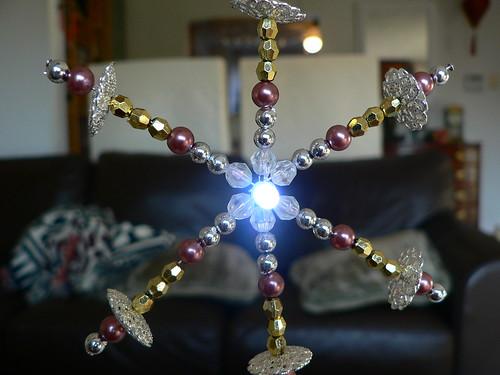 my LED snowflake