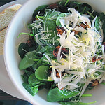 Tuscan Spinach Salad at Coral Tree Cafe, Brentwood