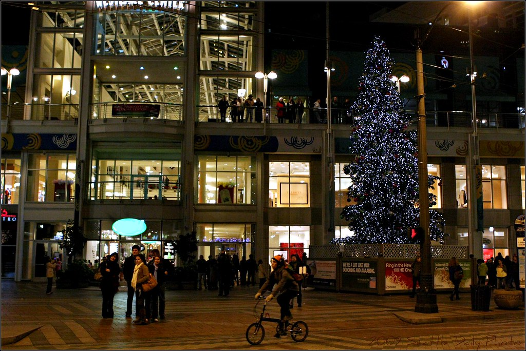 Westlake Center Christmas Tree