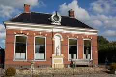 De voormalige woning van het rentenierende echtpaar Burema.
