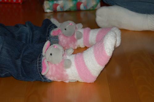 Bunny socks!