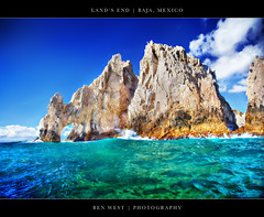 Land's End, Baja (BenW - Photons, git in here!) Tags: ocean mexico cabo pacific cliffs landsend 5d baja cortez hdr elarco photomatix