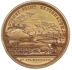 Stoney Point medal reverse