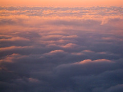 Sunset in the Clouds (sam_lens) Tags: sunset clouds arial planeview