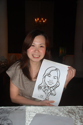Caricature live sketching for GSK - 2