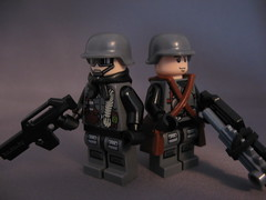 Hound and Ripper (Hound') Tags: lego future soldiers brickarms postapoc