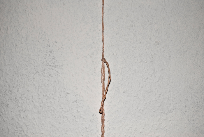 Rope with knot 2