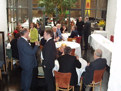 Vince Brunch 024 (Caledonian Lib Dems) Tags: shadow for with dr vince cable bridget business fox brunch local mp joined representatives vincebrunch